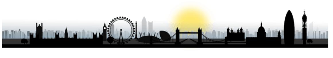 london silhouette snip